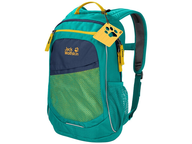 Jack Wolfskin Track Jack Backpack Kids green ocean